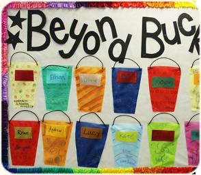 Bucket Bulletin Board